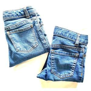 Bundle of 2 pairs skinny jeans